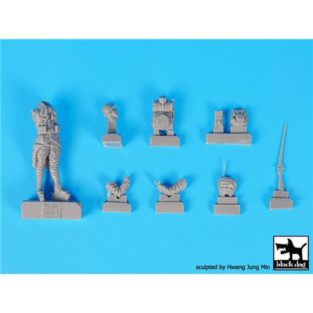 BLACK DOG F35202 French soldiers WW I set 1/35