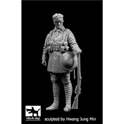BLACK DOG F35205 British soldier WW I N°4 1/35