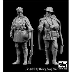 BLACK DOG F35206 British soldieers WW I set N°2 1/35