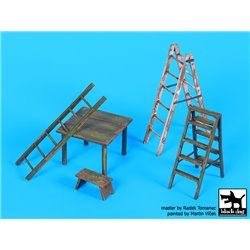 BLACK DOG F32064 Ladders and table 1/32