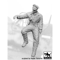 BLACK DOG F32066 German Luftwafe pilot N°6 1/32