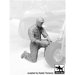 BLACK DOG F32068 Mechanics personnel USAAF 1940-45 N°°5 1/32