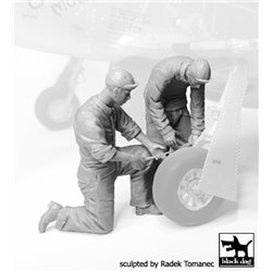 BLACK DOG F32070 Mechanics personnel USAAF 1940-45 set N°3 1/32