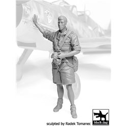 BLACK DOG F32071 German Lufttwafe pilot Africa N°3 1/32