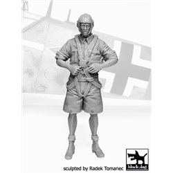 BLACK DOG F32072 German Lufttwafe pilot Africa N°4 1/32