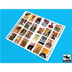 BLACK DOG P35006 WW II German Propaganda posters (24 posters) 1/35