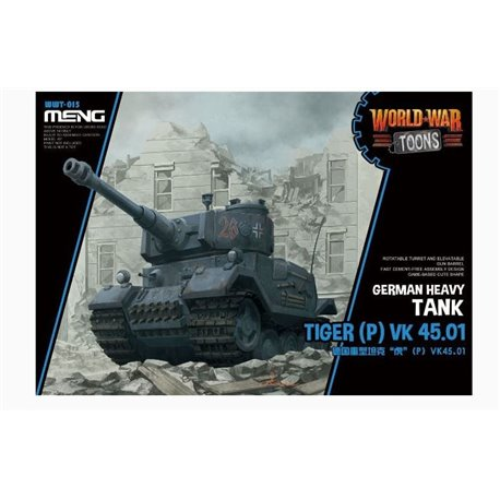 MENG WWT-015 German Heavy Tank Tiger (P) (Cartoon Mod