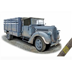 ACE 72575 1/72 G917T 3t German cargo truck (m.1939 soft cab)