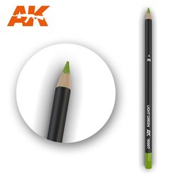 AK INTERACTIVE AK10007 Watercolor Pencil Light Green