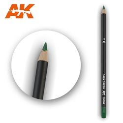 AK INTERACTIVE AK10008 Watercolor Pencil Dark Green