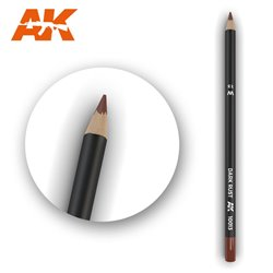 AK INTERACTIVE AK10013 Watercolor Pencil Dark Rust