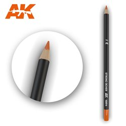 AK INTERACTIVE AK10014 Watercolor Pencil Strong Ocher