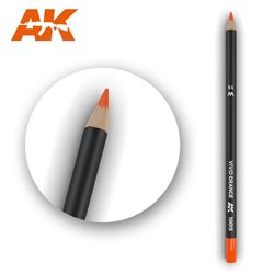 AK INTERACTIVE AK10015 Watercolor Pencil Vivid Orange