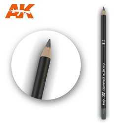 AK INTERACTIVE AK10018 Watercolor Pencil Gun Metal (Graphite)