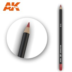 AK INTERACTIVE AK10020 Watercolor Pencil Red Primer