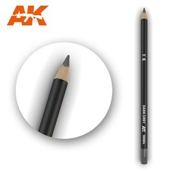 AK INTERACTIVE AK10024 Watercolor Pencil Dark Grey