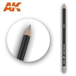 AK INTERACTIVE AK10025 Watercolor Pencil NeutRAL Grey