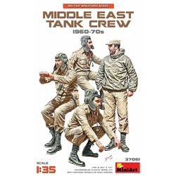 MINIART 37061 1/35 Middle East Tank Crew 1960-70s