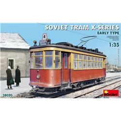 MINIART 38020 1/35 Soviet Tram X-Series. Early Type.