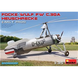 MINIART 41012 1/35 Focke-Wulf Fw C.30A Heuschrecke. Early Prod