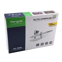 FENGDA BD-180K Airbrush With 0.2 and 0.3mm Nozzle