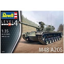 REVELL 03287 1/35 M48 A2CG