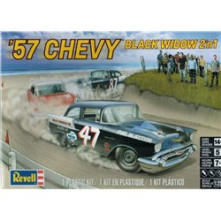 REVELL 85-4441 1/25 1957 Chevy Black Widow 2n1