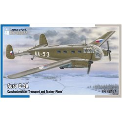 SPECIAL HOBBY SH48197 1/48 Aero C-3A Czechoslovakian Transport and Trainer Plane