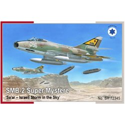 SPECIAL HOBBY SH72345 1/72 SMB-2 Super Mystere Sa ar Israeli Storm in the Sky