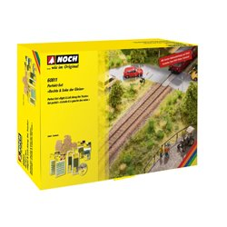 "NOCH 60811 Perfect Set ""Right & Left Along the Tracks"""