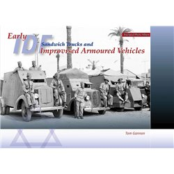 TRACKPAD PUBLISHING PA003 Early IDF Sandwich Trucks and Improvised Armoured vehicles