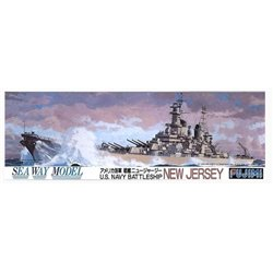 FUJIMI 44111 1/700 U.S. Navy Battleship New Jersey