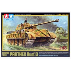 TAMIYA 32597 1/48 German Tank Panther Ausf. D