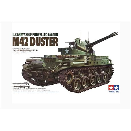 TAMIYA 35161 1/35 Selfpropelled Anti-Aircraft-Gun M42 DUSTER