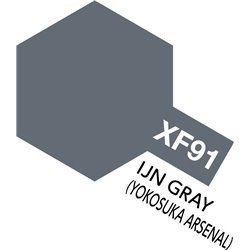 TAMIYA 81791 Peinture Acrylique XF-91 Gris Marine Jap. Yokosuka 10ml