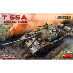 MINIART 37020 1/35 Soviet Medium Tank T-55A Mod. 1981 Interior Kit