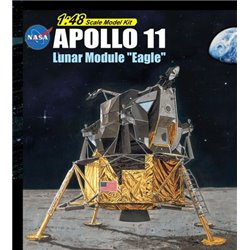 "DRAGON 11008 1/48 Apollo 11 Lunar Module ""Eagle"" 50th Anniversary Moon Landing"