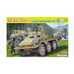 DRAGON 6879 1/35 Sd.Kfz.234/1 Schwerer Panzerspähwagen (2cm) Premium Edition