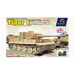 DRAGON 6947 1/35 Pz.Kpfw. VI Ausf. E Tiger I Late Production w/Zimmerit 1944