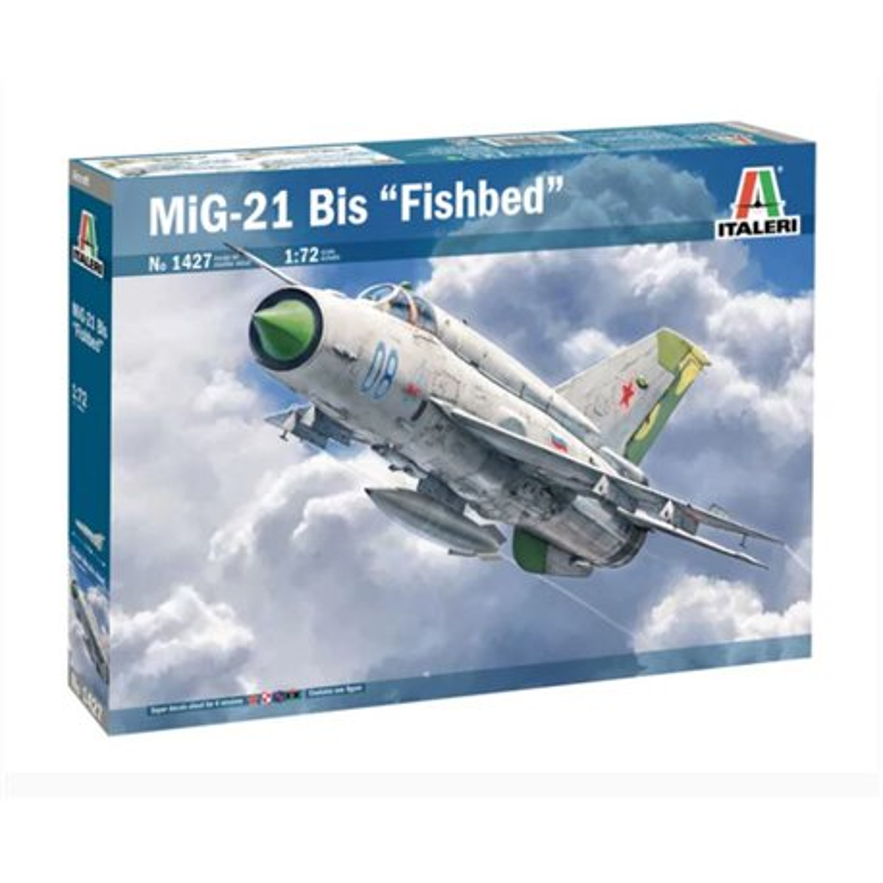 """ITALERI 1427 1/72 MiG-21bis """"Fishbed"""""""