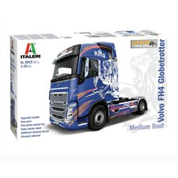 ITALERI 3942 1/24 Volvo FH4 Globetrotter Medium Roof