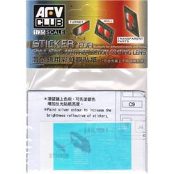 AFV CLUB AC35014 1/35 Sticker for simulating Anti reflection coating lens