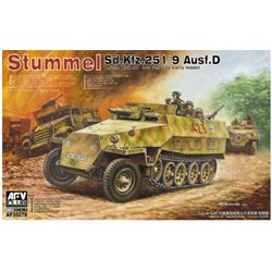 AFV CLUB AF35278 1/35 Sd.Kfz. 251/9 Ausf. D early type