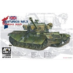 AFV CLUB AF35303 1/35 Centurion Mk.3 Korean War