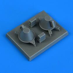 EDUARD 72105 1/72 Photo Etched ESAC Bomb Bay Detail Set