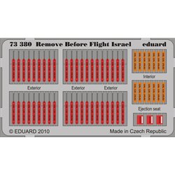EDUARD 73380 1/72 Photo Etched Remove Before Flight – Israel