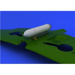 EDUARD 648108 1/48 Photo Etched Spitfire drop tank For Eduard
