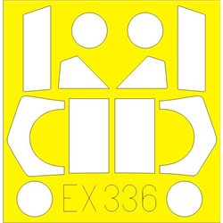 EDUARD EX336 1/48 Masks UC-43/ C-17 For Roden