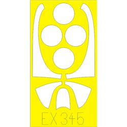 EDUARD EX345 1/48 Masks F8F For Hobby Boss