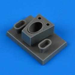 EDUARD JX129 1/32 Masks Spitfire Mk. XVIe For Tamiya